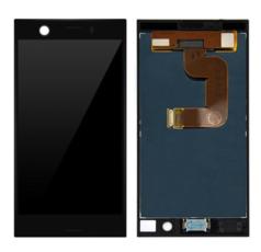 Экран для Sony Xperia XZ1 compact (mini) с тачскрином, цвет: черный