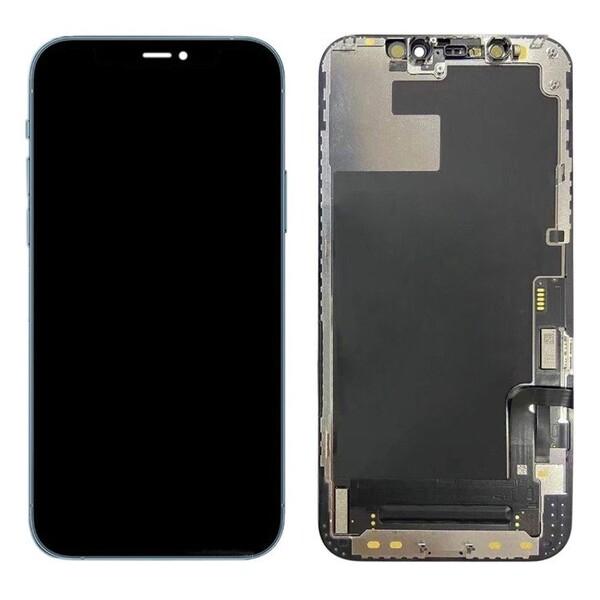 Экран для Apple iPhone 12 Pro MAX с тачскрином, цвет: черный (оригинальный дисплей)