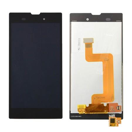 Экран для Sony Xperia T3 D5102 (D5106) с тачскрином, цвет: черный (оригинал)