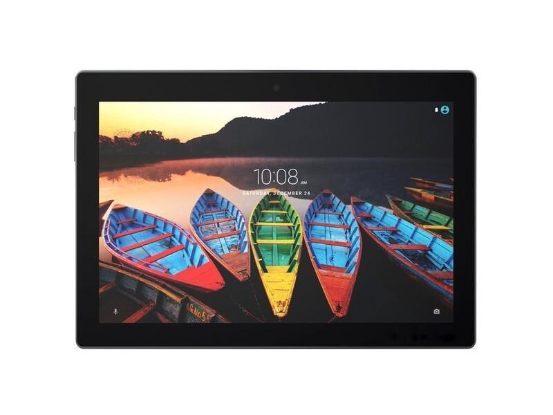 Экран для Lenovo Tab 3 Business TB3-X70F с тачскрином, цвет: черный