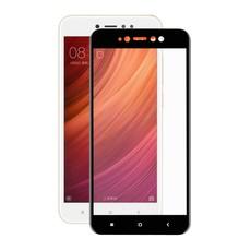 Защитное стекло для Xiaomi Redmi 5a, 3D (проклейка по контуру), цвет: черный