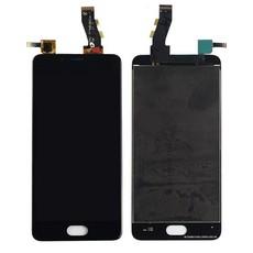 Экран для Meizu U10 с тачскрином, цвет: черный