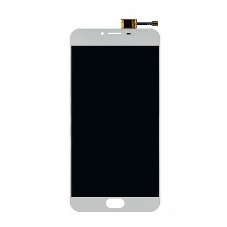 Экран для Meizu U20 с тачскрином, цвет: белый
