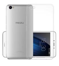 Чехол-бампер для Meizu U20, цвет: прозрачный