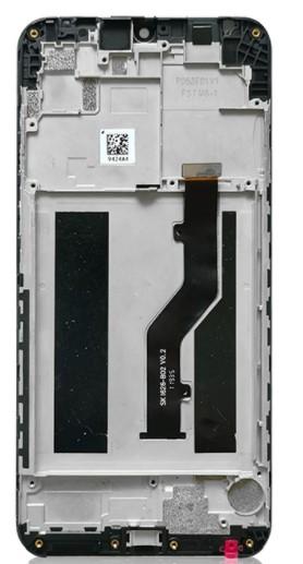 Средняя часть (рамка) для A1 Альфа, цвет: черный