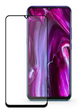 Защитное стекло для Vivo V17 Pro 5D (полная проклейка) цвет: черный