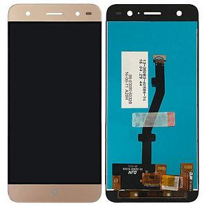 Экран для ZTE Blade V7 Lite с тачскрином, цвет: золотой
