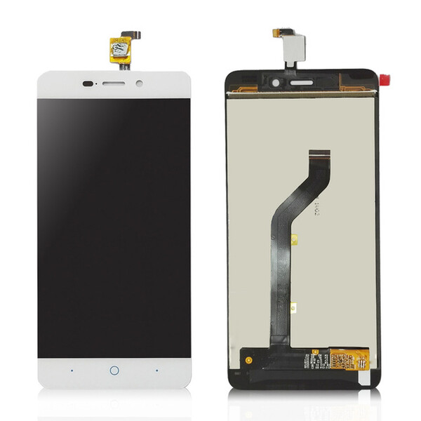 Экран для ZTE Blade X3, D2, A452, T620 с тачскрином, цвет: белый