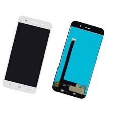 Экран для ZTE Blade X7 с тачскрином, цвет: белый