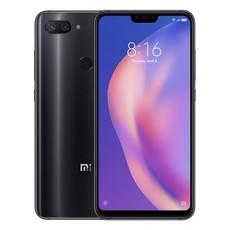 Задняя крышка для Xiaomi Mi 8 Lite (Mi8 Lite) цвет: черный