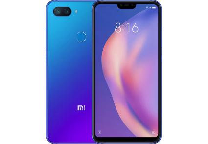 Задняя крышка для Xiaomi Mi 8 Lite (Mi8 Lite) цвет: синий