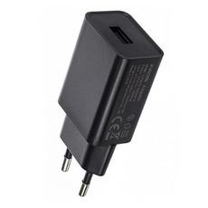 Сетевое зарядное устройство (блок питания) Xiaomi CYSK10-050200-E с USB входом 2A, цвет: черный