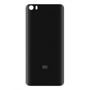 Задняя крышка для Xiaomi Mi5 (Mi 5) пластик, цвет: черный