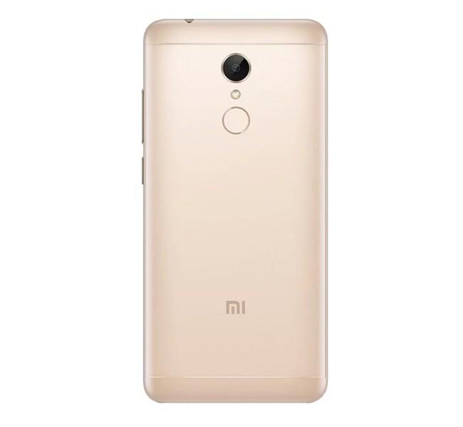 Задняя крышка для Xiaomi Redmi 5 цвет: золотой