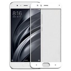 Защитное стекло для Xiaomi Redmi Note 5 Pro, 5D (полная проклейка) цвет: белый