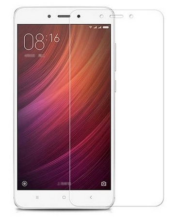 Защитное стекло для Xiaomi Redmi Note 4, цвет: прозрачный