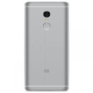 Задняя крышка для Xiaomi Redmi Note 4, цвет: серый