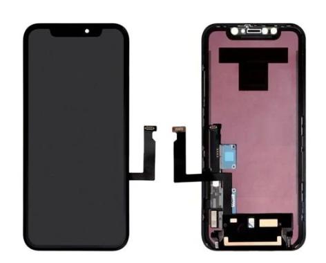 Экран для Apple iPhone XR с тачскрином, цвет: черный (оригинальный, заменено стекло)