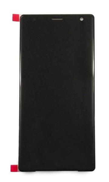 Экран для Sony Xperia XZ2 с тачскрином, цвет: черный