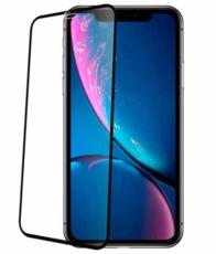 Защитное стекло для Vivo Y3, Y15 2019, Y12, U10, Y11 2019 5D (полная проклейка) цвет: черный