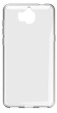 Чехол для Huawei Y5 2017 Y5 III Y5-3 силиконовый, цвет: прозрачный