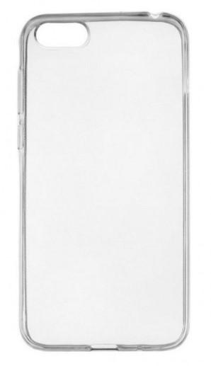 Чехол для Huawei Honor 7A, Y5 Prime 2018 силиконовый, цвет: прозрачный