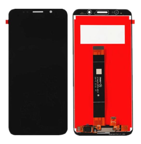 Экран для Huawei Y5 2018 с тачскрином, цвет: черный