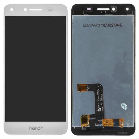 Экран для Huawei Y5 II (Y5-2, CUN-U29) с тачскрином, цвет: белый