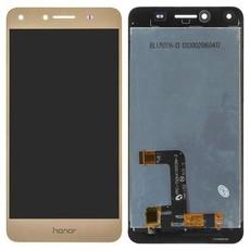 Экран для Huawei Y6 II Compact (Y6-2 mini) с тачскрином, цвет: золотой
