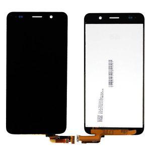 Экран для Huawei Y6 (SCL-L01) с тачскрином, цвет: черный