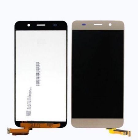 Экран для Huawei Y6 (SCL-L01) с тачскрином, цвет: золотой