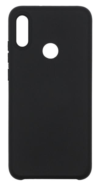Чехол для Huawei Y7 2019 (DUB-LX1) Silicone Case, цвет: черный
