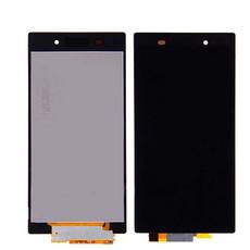 Экран для Sony Xperia Z1 C6902 (C6903, C6906, C6943) с тачскрином, цвет: черный (оригинал)