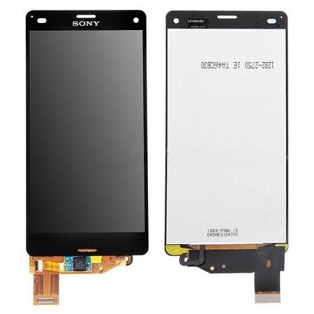 Экран для Sony Xperia Z3 Compact D5803 (Xperia Z3 mini) с тачскрином, цвет: черный (оригинал)