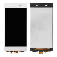 Экран для Sony Xperia Z3 D6603 (D6653, D6616, D6633) с тачскрином, цвет: белый (оригинал)