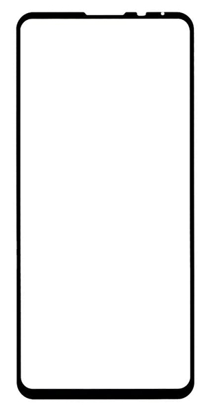 Защитное стекло для Xiaomi Mi MIX 3, 5D (полная проклейка), цвет: черный