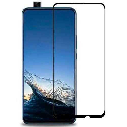 Защитное стекло для Huawei P smart Z 2019 5D (полная проклейка), цвет: черный