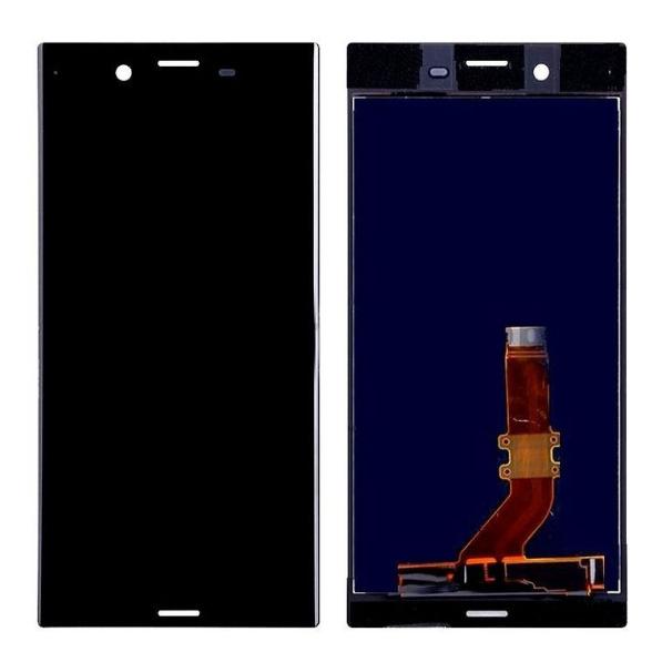 Экран для Sony Xperia XZ Premium (G8141, G8142) с тачскрином, цвет: черный